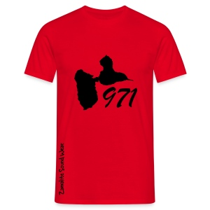 ZSW 971 Rouge - T-shirt Homme