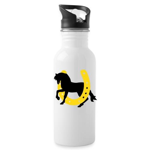 Golden Horse Shoe Bottle - Water Bottle