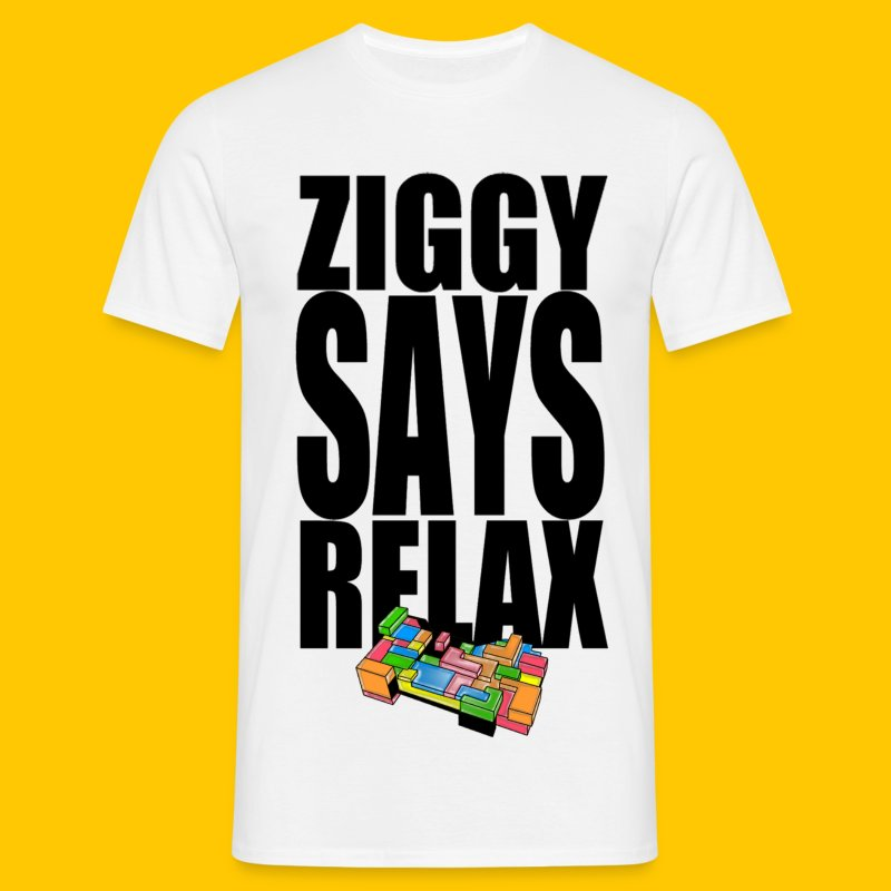 Ziggy Says - Men's T-Shirt