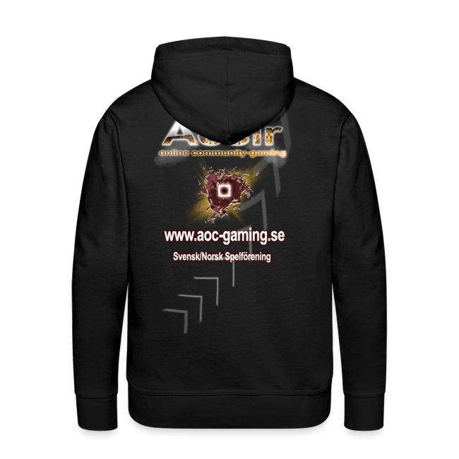 AOC-Gaming Hood Tröja Valrfi Färg och med Nick!