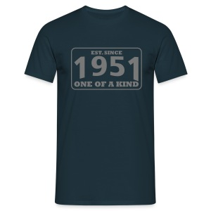 1951 - One Of A Kind - Männer T-Shirt
