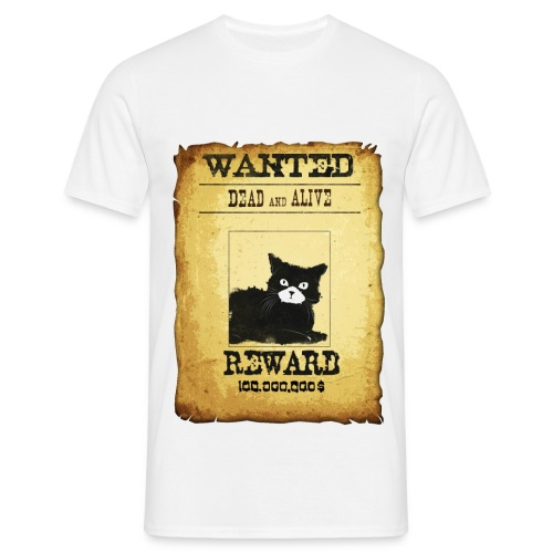 Wanted Dead and alive - T-shirt Homme