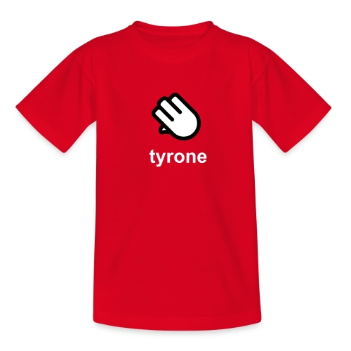 Tyrone Red Hand – Kids GAA T-Shirt - Kids' T-Shirt