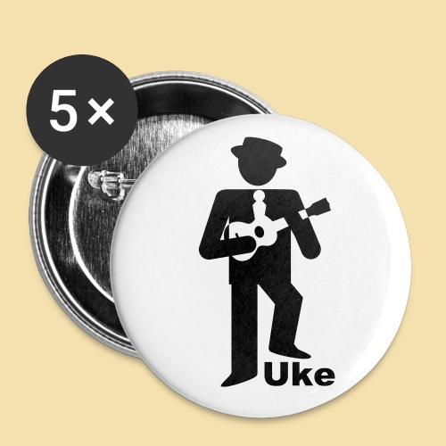 ButtonUkePlayer - Buttons klein 25 mm