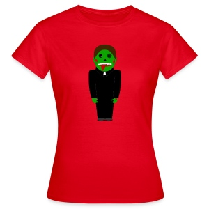 Zombie Vampire Priest T-Shirt - Frauen T-Shirt