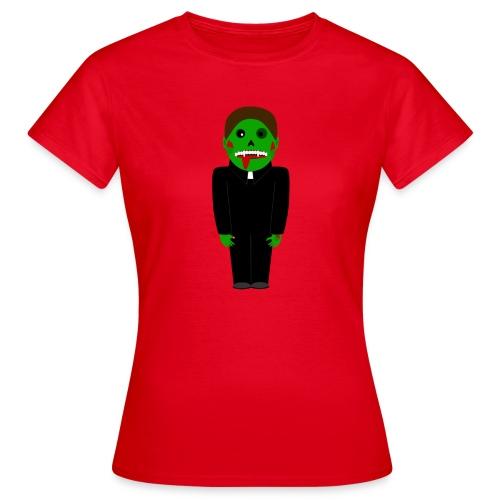 Zombie Vampire Priest T-Shirt - Frauen T-Shirt