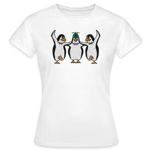 Penguin Trio Womans Standard - Women's T-Shirt
