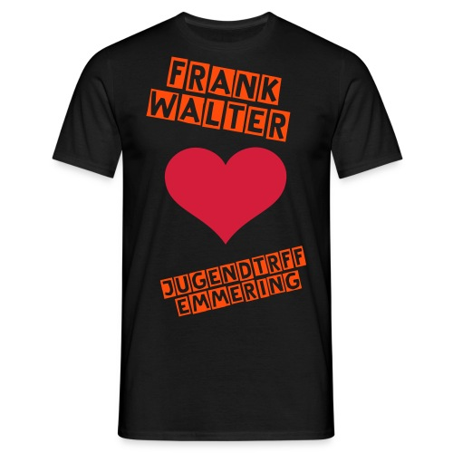 JuZ is Frank`s Favorit - Männer T-Shirt