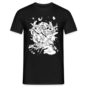 Action Bunnies Men's - Men's T-Shirt