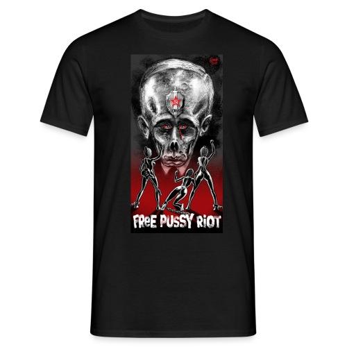 Free Pussy Riot! Fuck Putin! Kurzarm - Männer T-Shirt