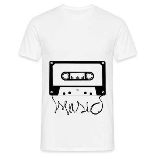 Music Cassette - T-shirt Homme