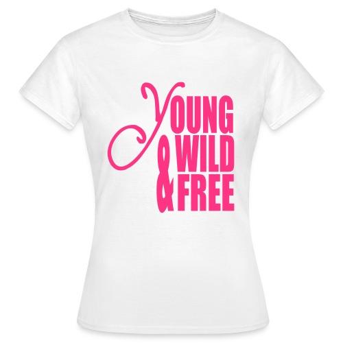 Basic T-shirt girls @ Young - Vrouwen T-shirt
