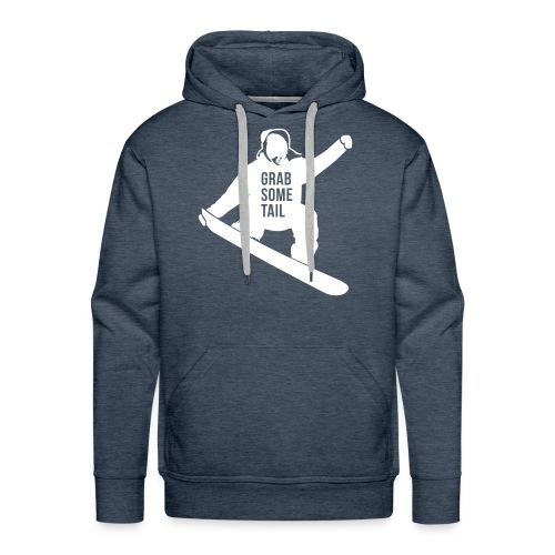 Mens Grab Tail Hoody - Men's Premium Hoodie
