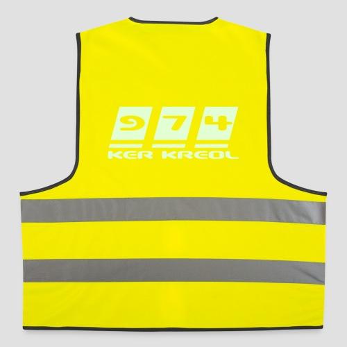 Gilet de sécurité 974 ker kreol - Gilet de sécurité