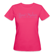 T-Shirts ~ Frauen Bio-T-Shirt ~ Bio-Shirt mit Glitzerdruck, pink