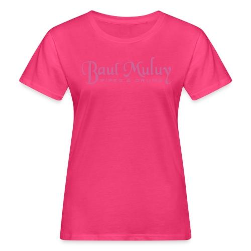 Bio-Shirt mit Glitzerdruck, pink - Frauen Bio-T-Shirt