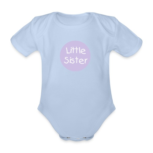 Little Sister Vest - Organic Short-sleeved Baby Bodysuit