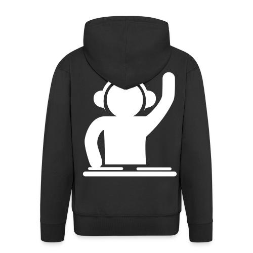 Herre premium hættejakke - Fed trøje til den som elsker musik