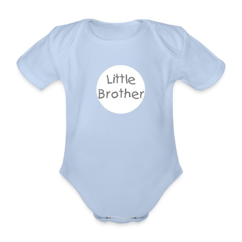 Little Brother Vest - Organic Short-sleeved Baby Bodysuit