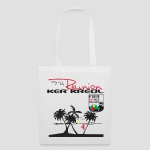 Sac en tissu 974 Ker Kreol Réunion 2013 pays - Tote Bag