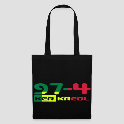 Sac en tissu 974 Ker Kreol Rasta - Tote Bag