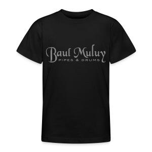 Kinder T-Shirt mit Glitzer-Druck - Teenager T-Shirt