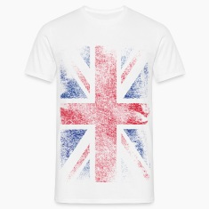 union jack - used look T-Shirts