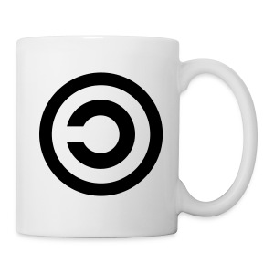 Tasse copyleft - Mug blanc