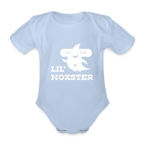 Kleines Monster - Baby Bio-Kurzarm-Body
