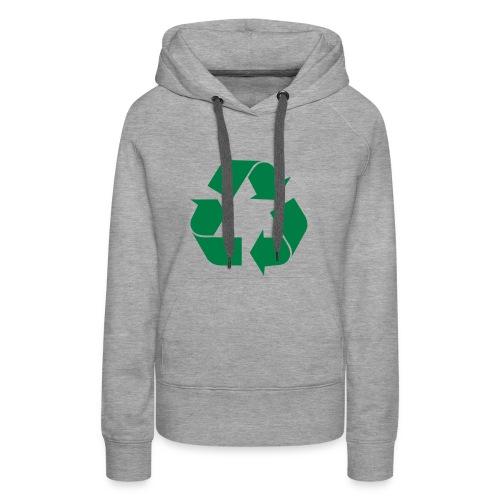 Recycle Hoodie - Women's Premium Hoodie