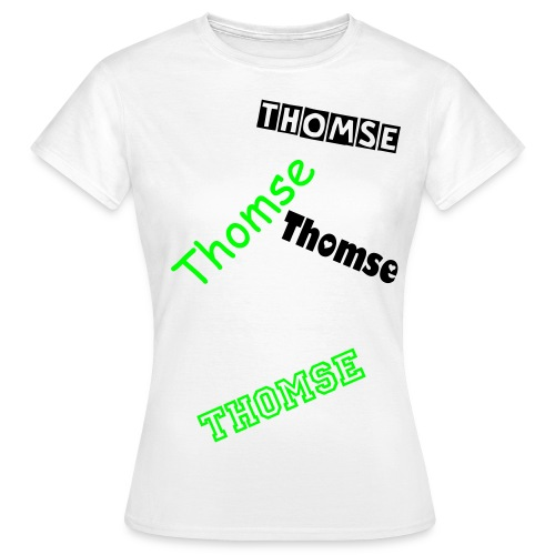 Thomse - Dame-T-shirt