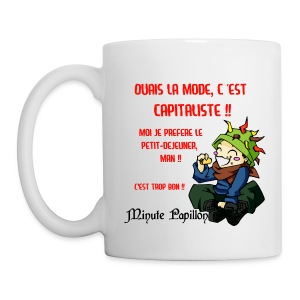 Tasse Hippie - Mini-Kriss - Mug blanc