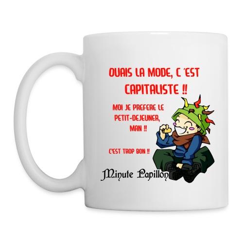 Tasse Hippie - Mini-Kriss - Mug blanc