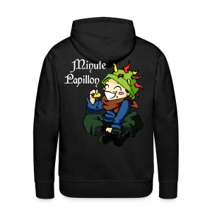 Mini-Kriss - Le hippie - Sweat Capuche - Sweat-shirt à capuche Premium pour hommes