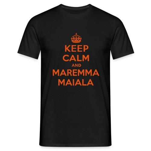 Keep Maremma - T-Shirt Uomo - Maglietta da uomo