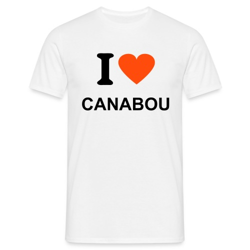 I LOVE CANABOU - T-shirt Homme