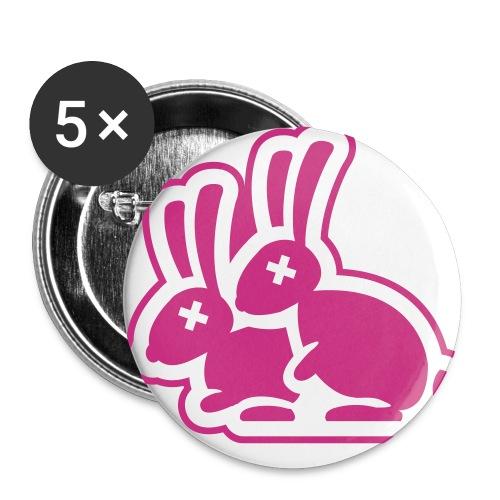 lapin - Badge petit 25 mm