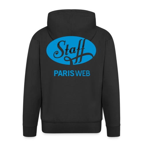 Staff - hoodie zip - bleu - Veste à capuche Premium Homme