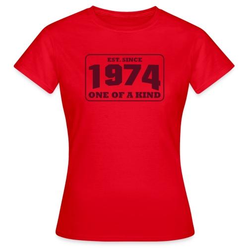 1974 - One Of A Kind - Frauen Shirt - Frauen T-Shirt