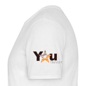 Front Print + Logo sleeves - Men's T-Shirt