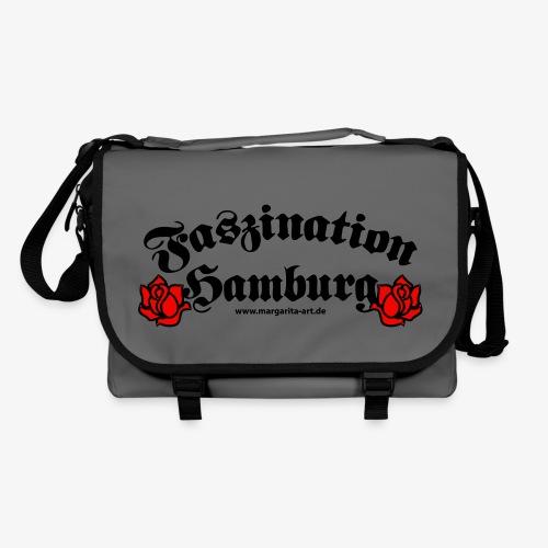 Faszination Hamburg Rosen Margarita Art Tasche Schultertasche Umhängetasche - Umhängetasche