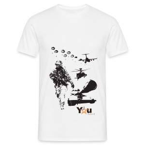 Front Print - Men's T-Shirt