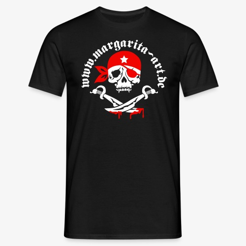 Beidseitig - Männer T-Shirt