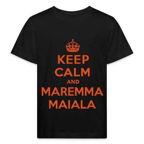 Keep Maremma - T-Shirt Bambino - Maglietta ecologica per bambini
