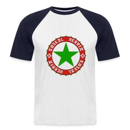 basque - T-shirt baseball manches courtes Homme