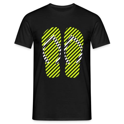 T-shirt flip-flops dark - Maglietta da uomo