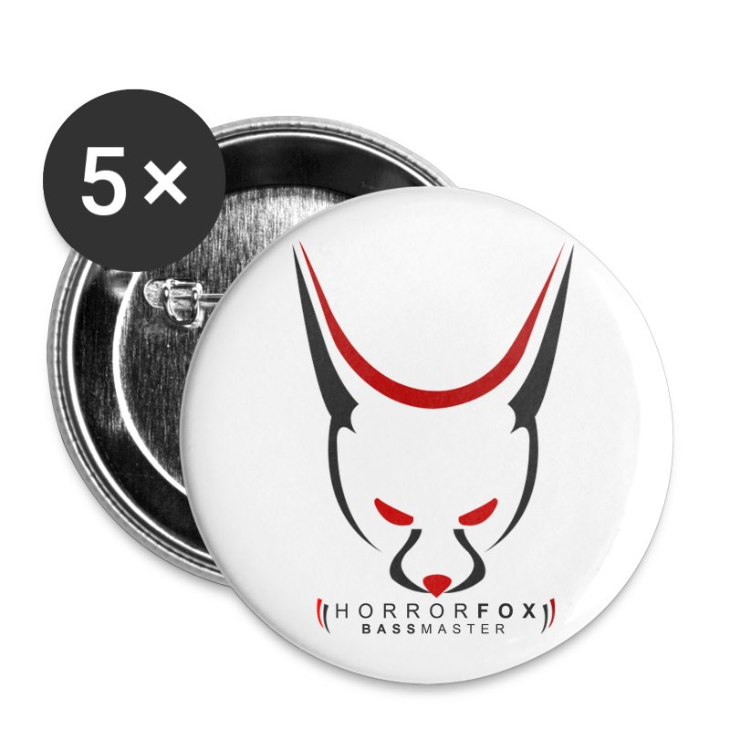 HorrorFox Small Buttons [5 Pack] - Buttons small 25 mm