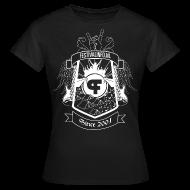 T-shirts ~ Vrouwen T-shirt ~ Festivalinfo schild zwart (female)
