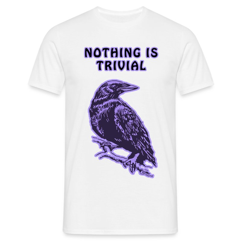 Purple Crow Mens Standard - Men's T-Shirt