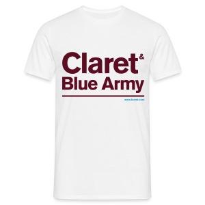 Claret & Blue Army - Men's T-Shirt